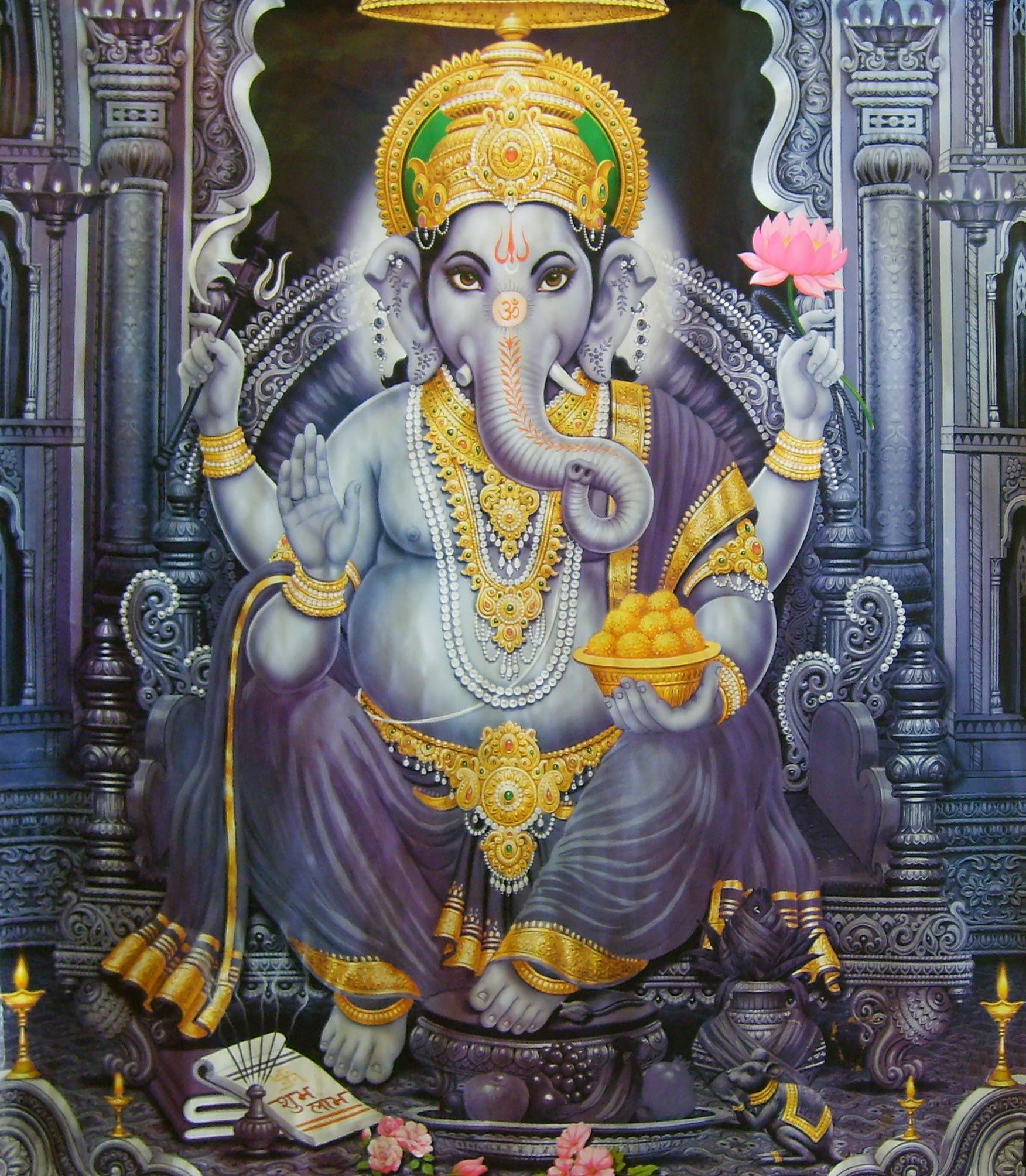 Hindu Poster Art: India's Gods And Goddesses - Google Search