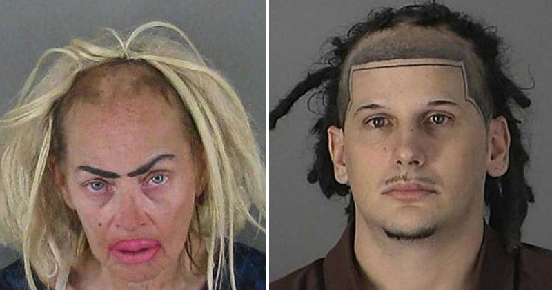 30 Of The Worst Mugshot Haircut Fails Youll Ever See Funny Hair