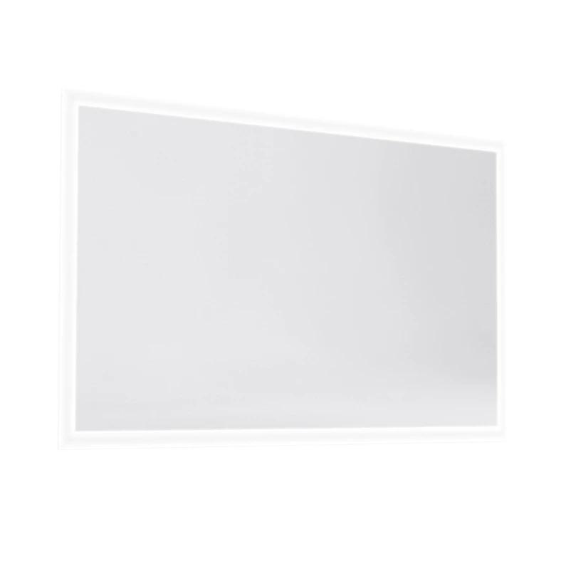 Miroir Lumineux Avec Eclairage Integre L 120 X H 70 Cm Opale En 2020 Miroir Lumineux Miroir Avec Eclairage Et Miroir Avec Eclairage Integre