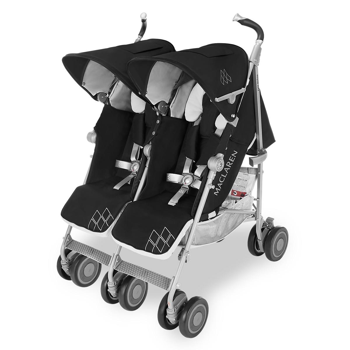 Twin Techno Stroller, Newborn safety, Umbrella stroller