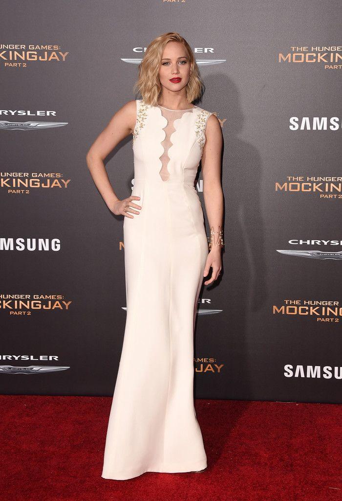 Jennifer Lawrence in Dior | Event dresses, Cute dresses ...
