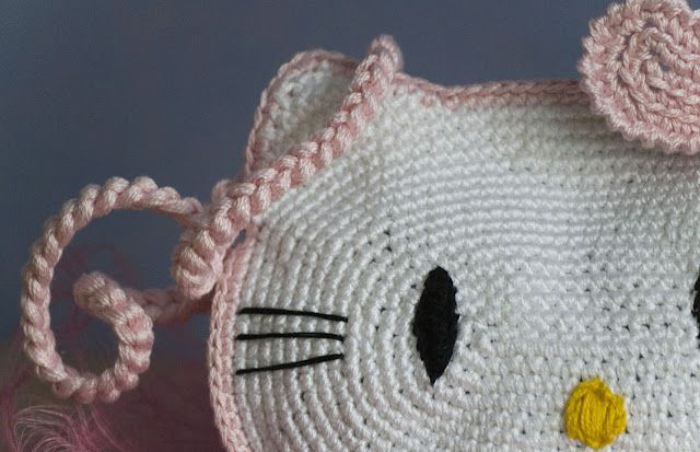 Mijn Haakblog: Hello Kitty tas