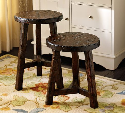 Colby Accent Stool | Pottery Barn (For master or guest suite bathroom) & Colby Accent Stool | Pottery Barn (For master or guest suite ... islam-shia.org