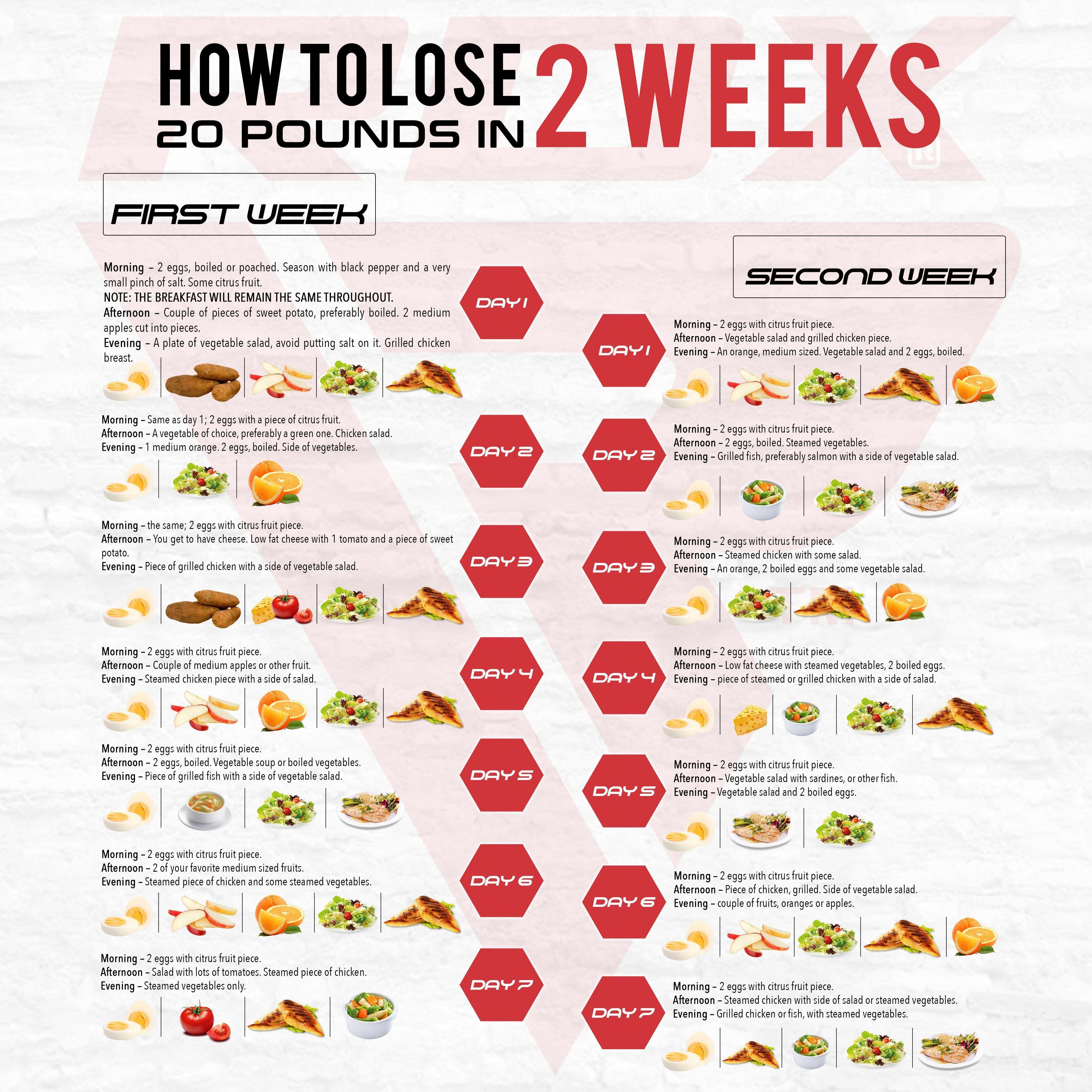 diet exercise plan lose 20 pounds