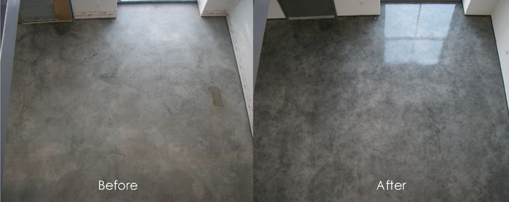 Cement floor finishing ideas floors decorative floor for Cement paint colors for floors