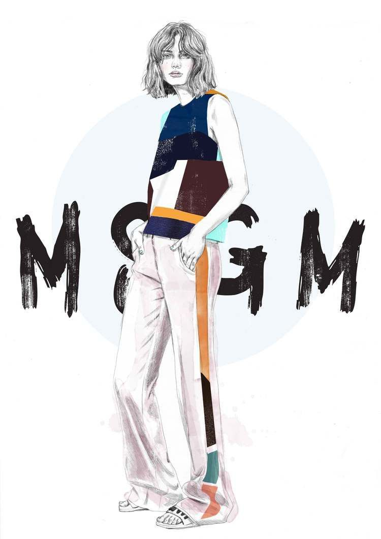 Photo of Fashion Illustrations by Tracy Turnbull