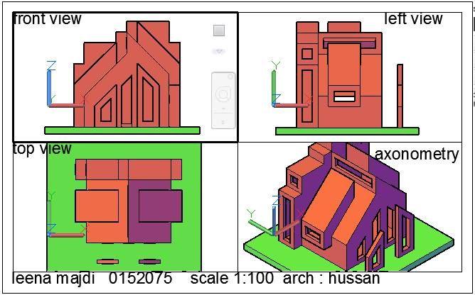 Leena Majdiالرسم والاظهار المعماري (Arch. Drawing & Representation ) May 11 ·