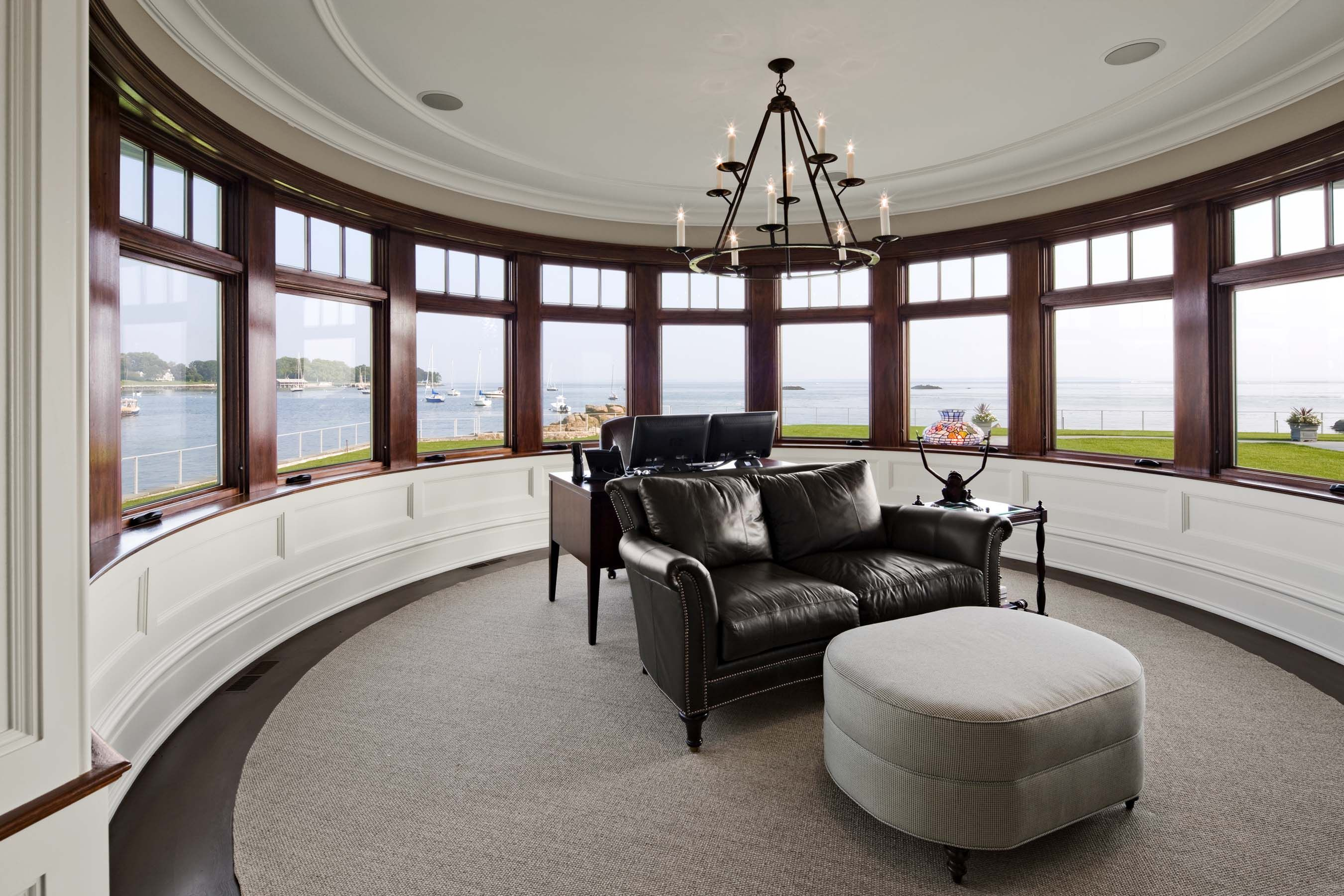 Sunroom Circular Room Degree Ocean View Robert