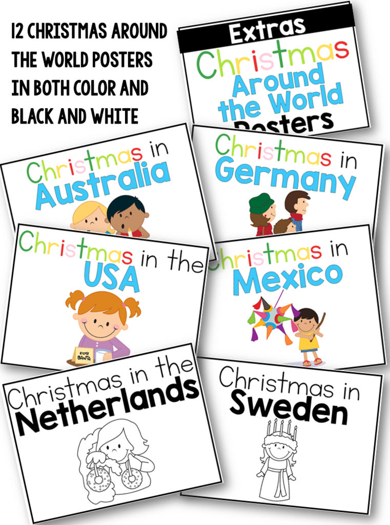 Christmas Around the World Clever classroom