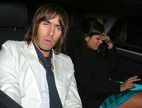 Lily Allen and Liam Gallagher swore and shouted during a mile high ...