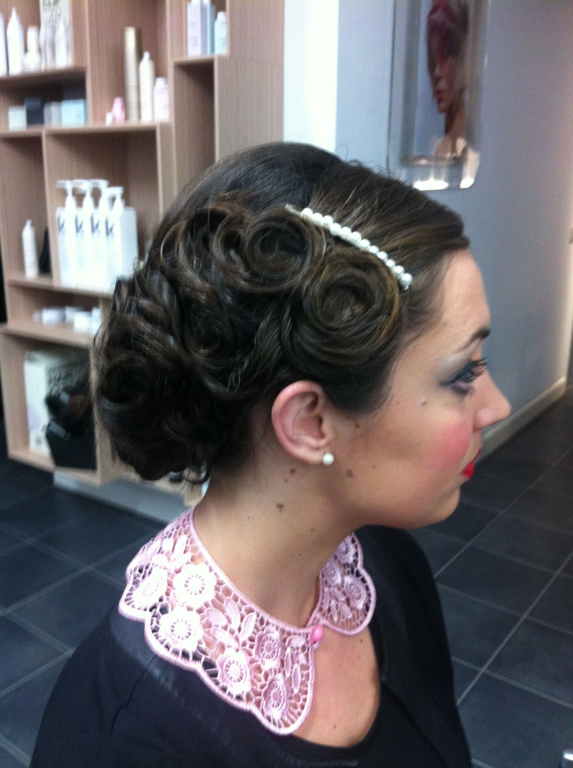 Made By Jo Ann 1930 1940 Style Hairupdo Clever Tresses