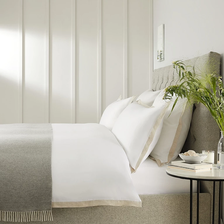 Mirador Bed Linen Collection Bed Linen Collections The White Company Linen Bedding Bed Linen Design White Company Bedding
