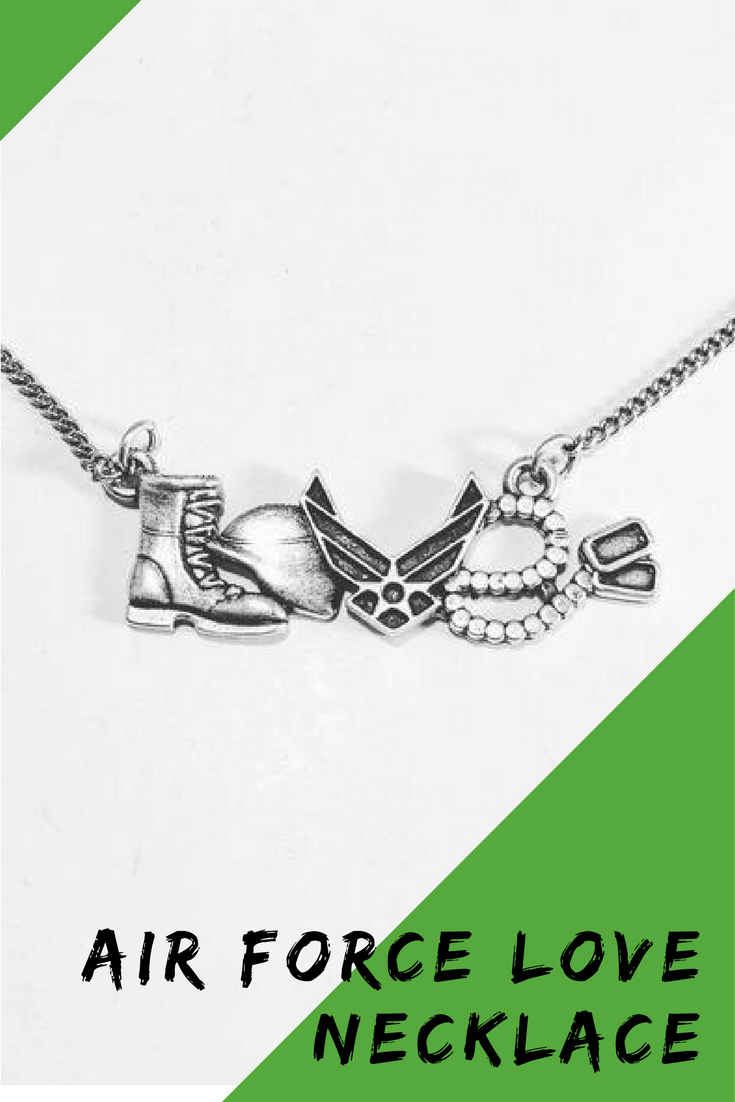 Air force necklace military necklace pinterest air force air force necklace aloadofball Choice Image