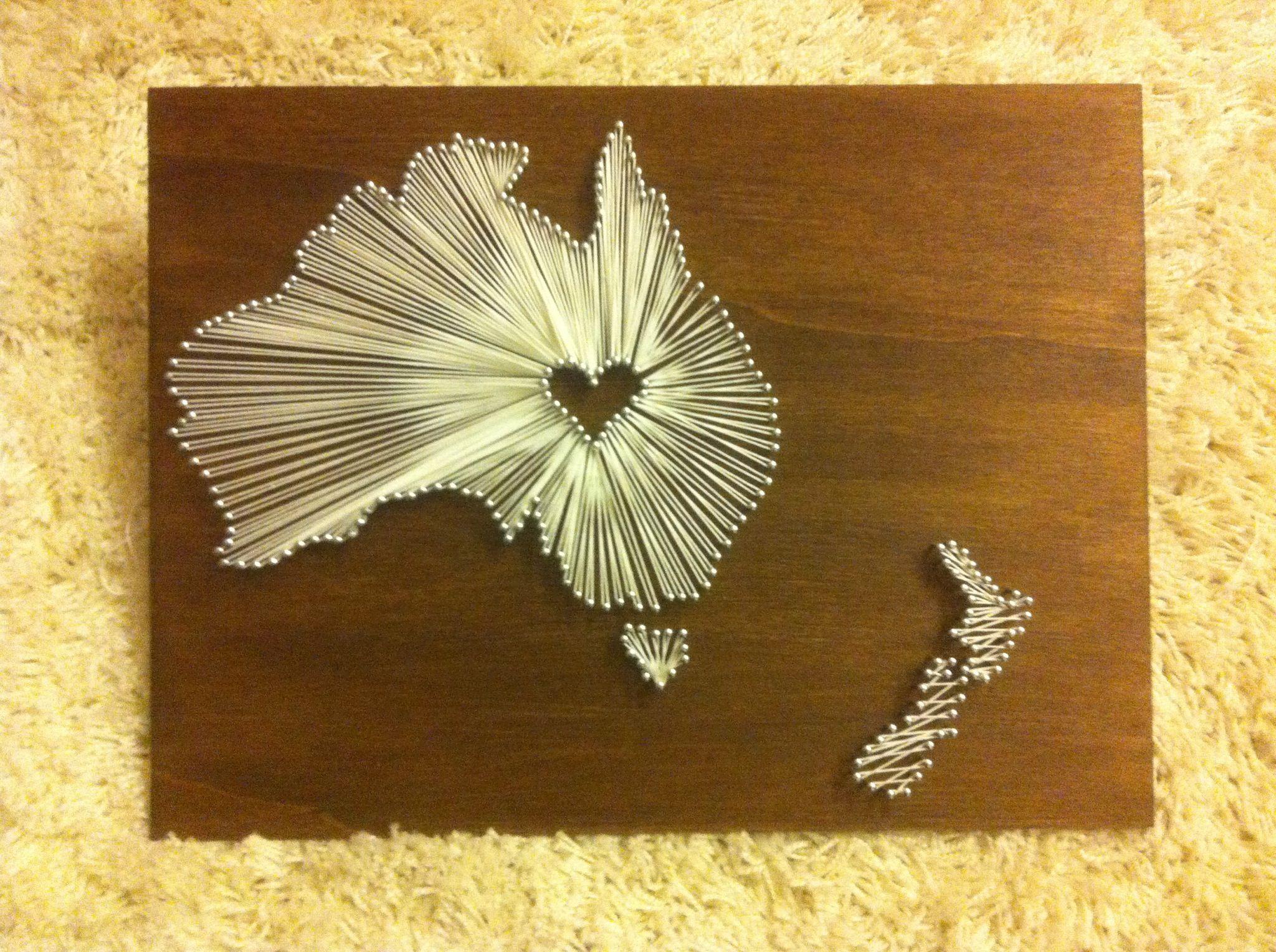 Australien Nägel und Garn   DIY & cards.   Pinterest   Australia ...