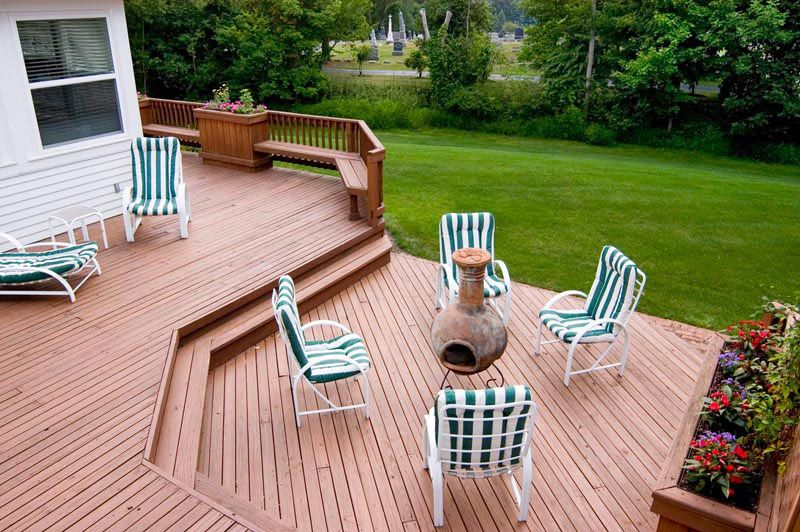 An outdoor multiuse personal area is what you get when we