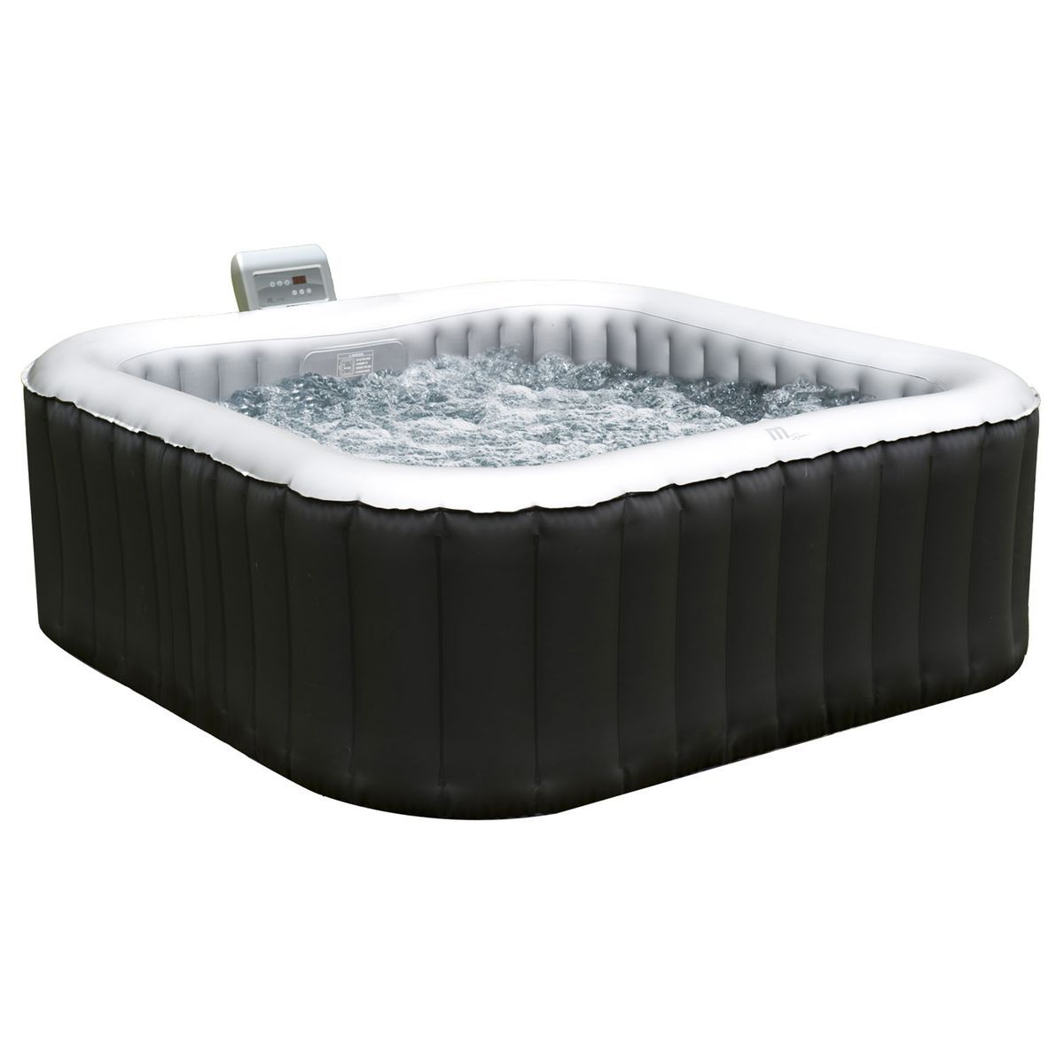 Spa Intex 6 Personnes Leroy Merlin spa gonflable carré 158cm alpine 4 places - taille : taille