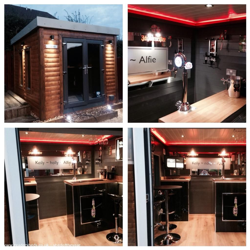 Sleek Appliance Garage: Murdys Bar Is An Entrant For Shed Of The Year 2015 Via