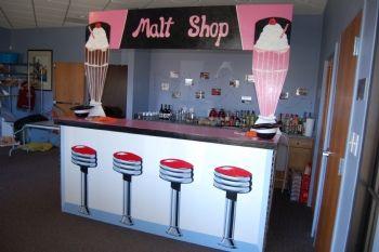 Premier S Exclusive Amp Functional Malt Shop Bar 1950 S