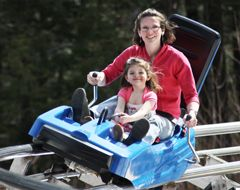 Attitash Mountain Resort where you can ride, splash and slide. Enjoy the thrill and excitement of the Nor'Easter Mountain Coaster, don't miss North America's longest Alpine Slide and relax with a scenic chair rides to the 2,550-foot summit.