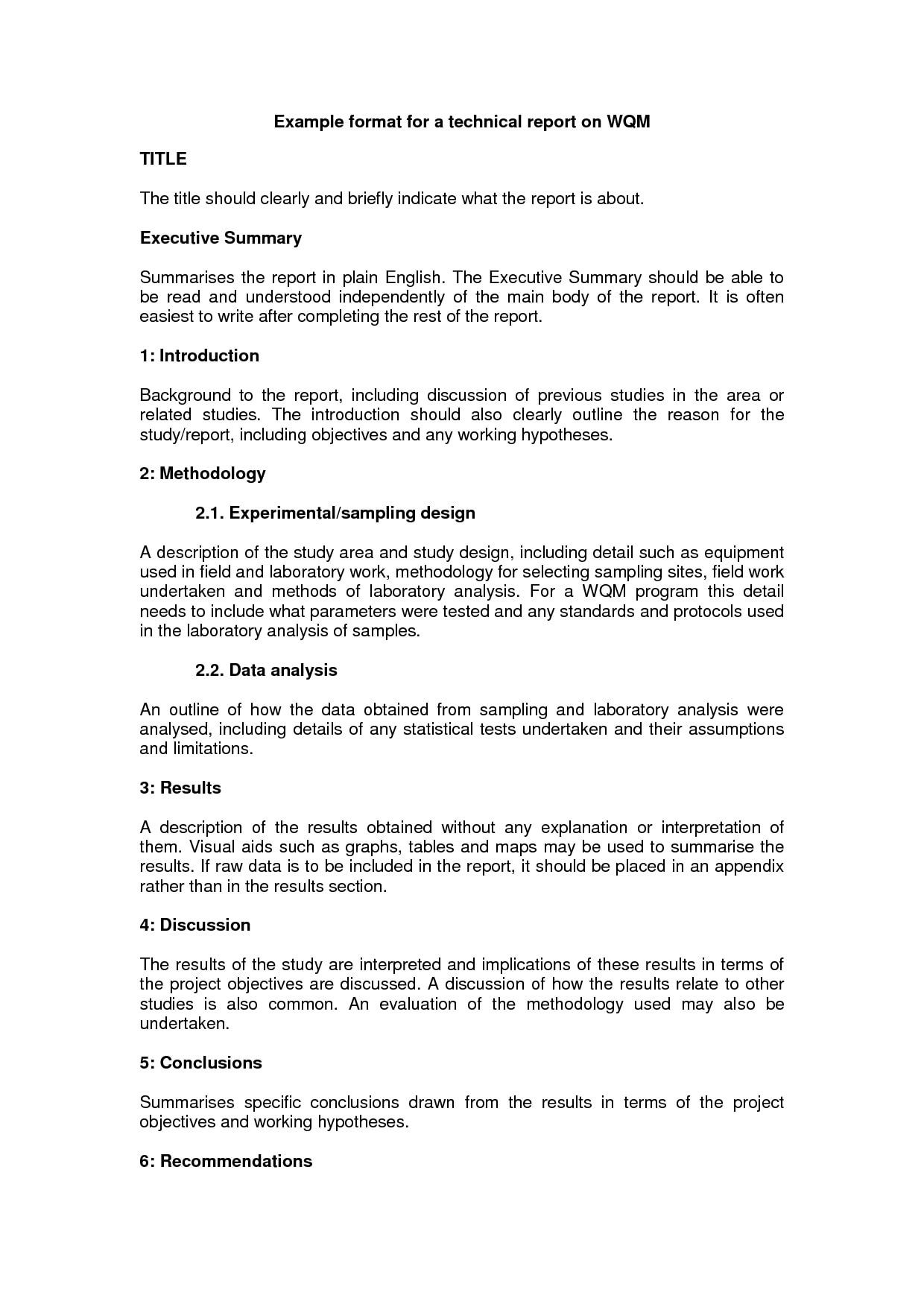 The Astounding 10 Technical Report Writing Examples Pdf Examples Regarding Template For Technical R Report Writing Template Report Writing Report Template