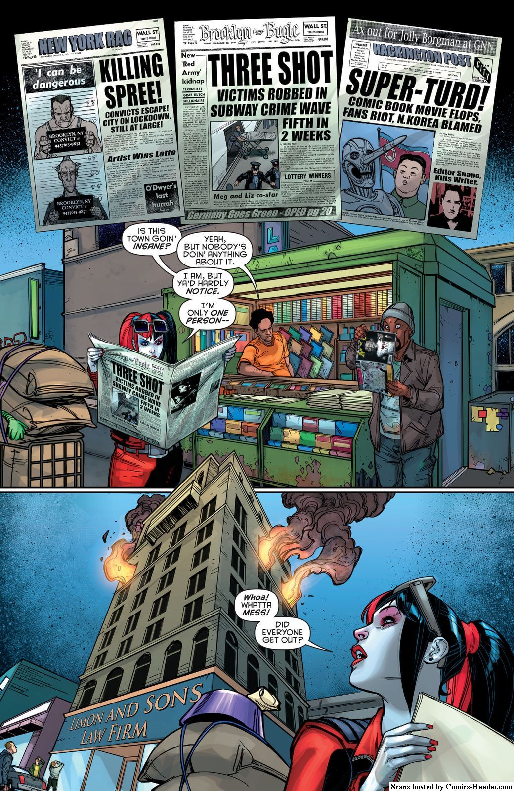 page 5 harley quinn new 52 us chapter 15 comics reader