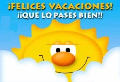 Resultado de imagen de felices vacaciones de verano