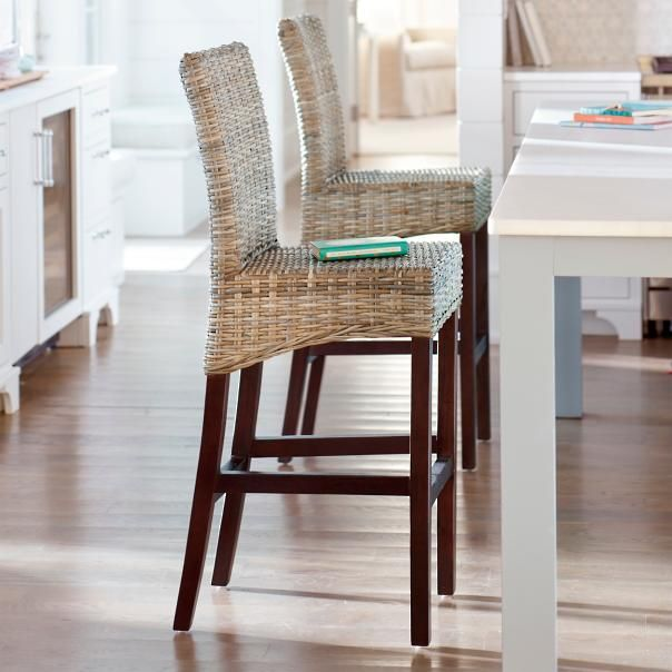 Our Skye Counter Stool is a very special piece of woven