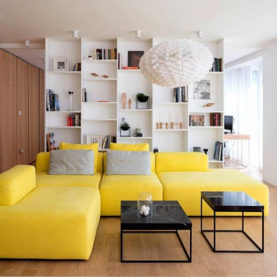 25 Windowless Kitchen Design Ideas: Small Space By Dont DIY Studio. The Modern Modular Sofa In