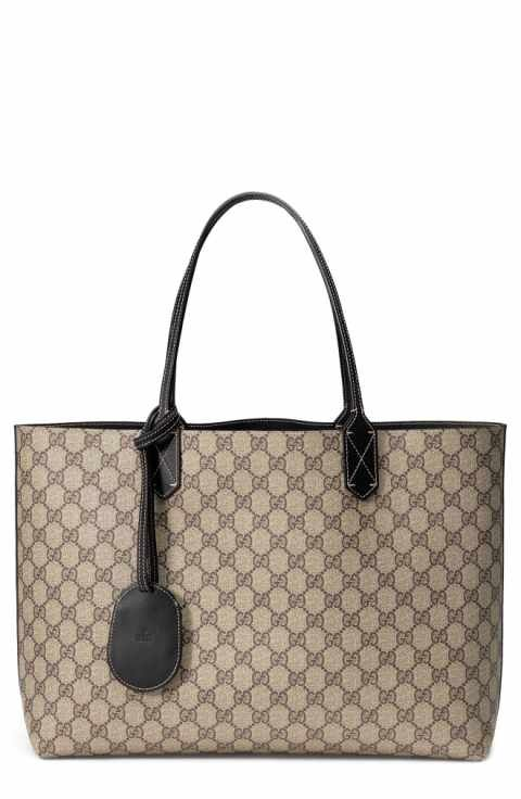 868148be80 ... on sale 36bb5 80195 New Gucci Turnaround Medium Reversible Leather Tote  Shop