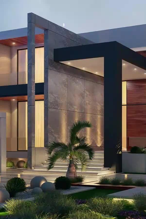 Modern dreamhouse design with beautiful décor and modern architecture. Check out our the best interior design ideas for villa architecture. #luxuryhome #luxuryarchitecture #villastyle #architecture