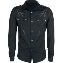 R2 Hemd Blumen BlauSuitable.de #leatherjacketoutfit