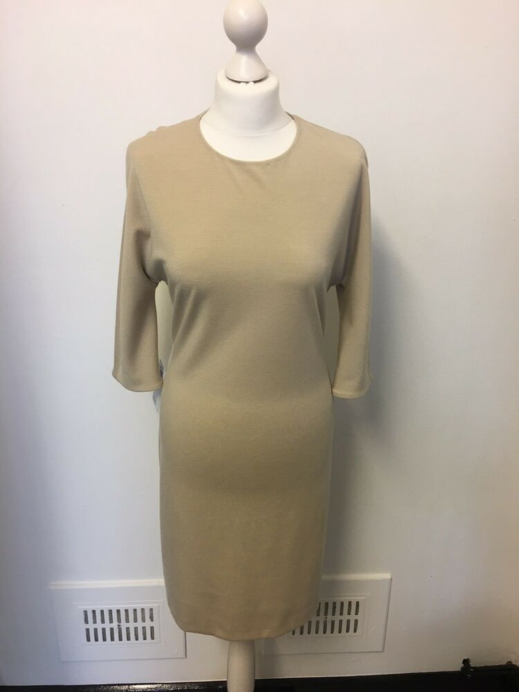 3bca3647 Calvin Klein Designer Cream Sample Piece Dress Size 8 10 Fitted Smart Soft # fashion #clothing #shoes #accessories #womensclothing #dresses (ebay link)