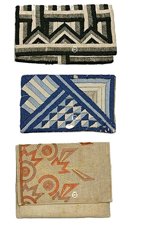 pochettes  circa 1925 1930   clutches