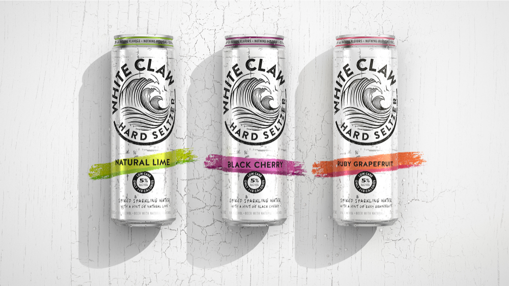 White Claw Bulletproof International Brand And Packaging Design Agency In 2020 White Claw Hard Seltzer Coors Light Beer Can Claws