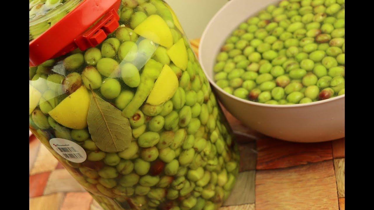 تحضير او تخليل الزيتون الأخضر بطريقتي أطيب وأفضل من الجاهز مع رباح محمد Salad Recipes Vegetables Recipes