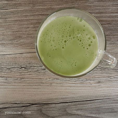 Matcha Latte @conscious_cooking #yommme #vegan #glutenfree #cleaneating #plantbased