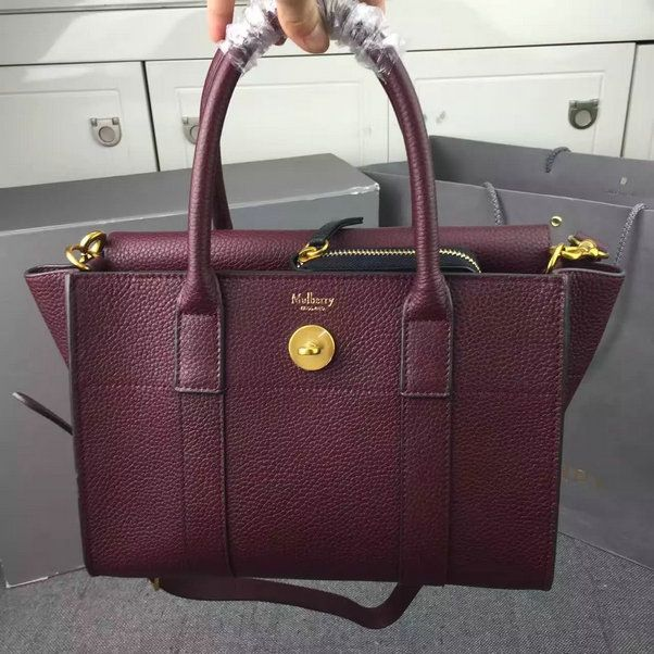 d1724184f7 2016 A/W Mulberry Small New Bayswater Oxblood Natural Grain Leather [HH3930- Oxblood] - £159.00 : Mulberry Outlet UK Team, Mulberry Outlet UK with 60%  off.