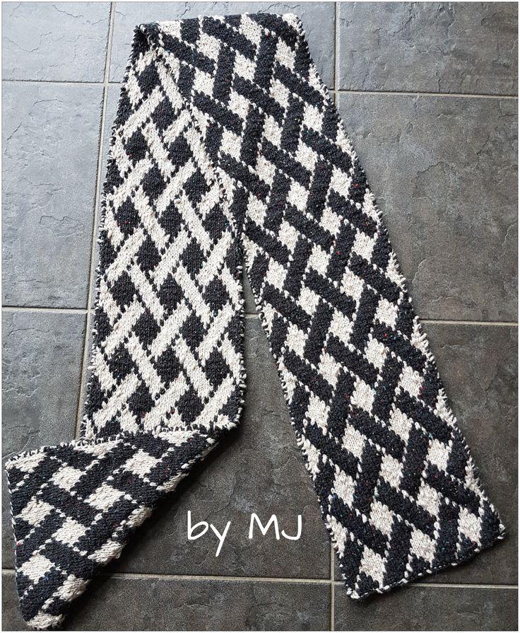 Double Sided Knitting. by MJ free pattern http://jaumatai ...