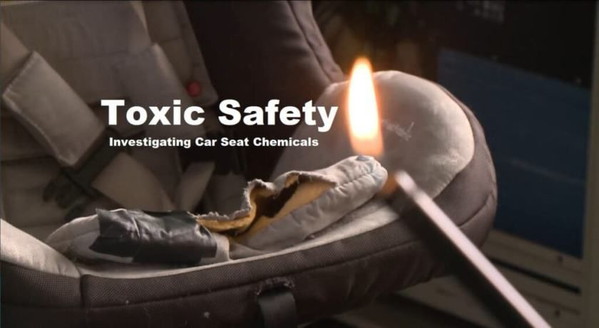 """Feds Blamed for Needlessly Exposing Kids to """"Cancer-Causing"""" Car Seat Chemicals  SAN FRANCISCO (KPIX 5) — Car seats are the only consumer product that parents are legally required to purchase in every state, though they are also commonly used outside of the car as strollers seats..."""