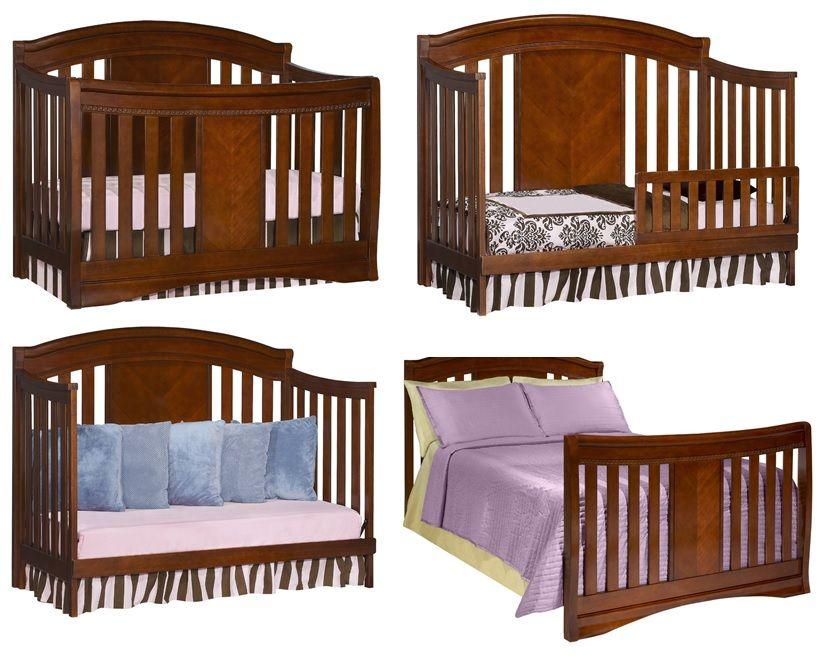 Simmons Slumber Time Elite 4-in-1 Convertible Kids Crib 02 | Nursery ...