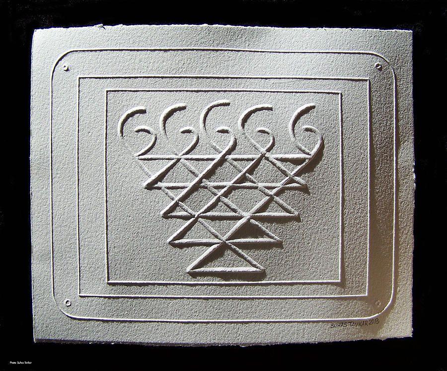 saraswati symbol   INK   Indian symbols, Hindu art, Art