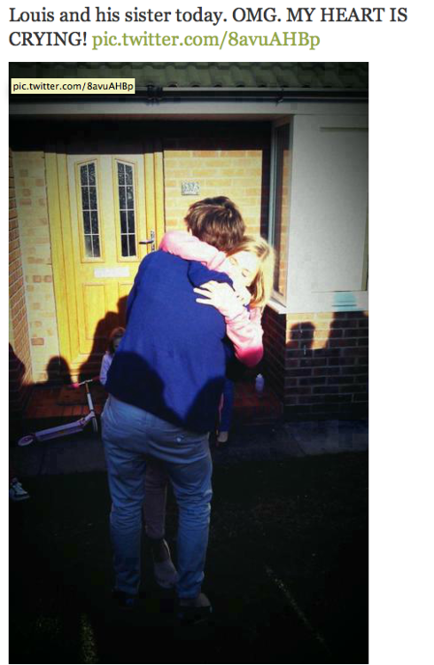 louis and lottie <3 i'll just be crying in the corner