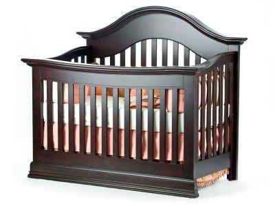 Capri Lifetime Convertible Arch Top Crib Munire Furniture Cribs Furniture Convertible Crib