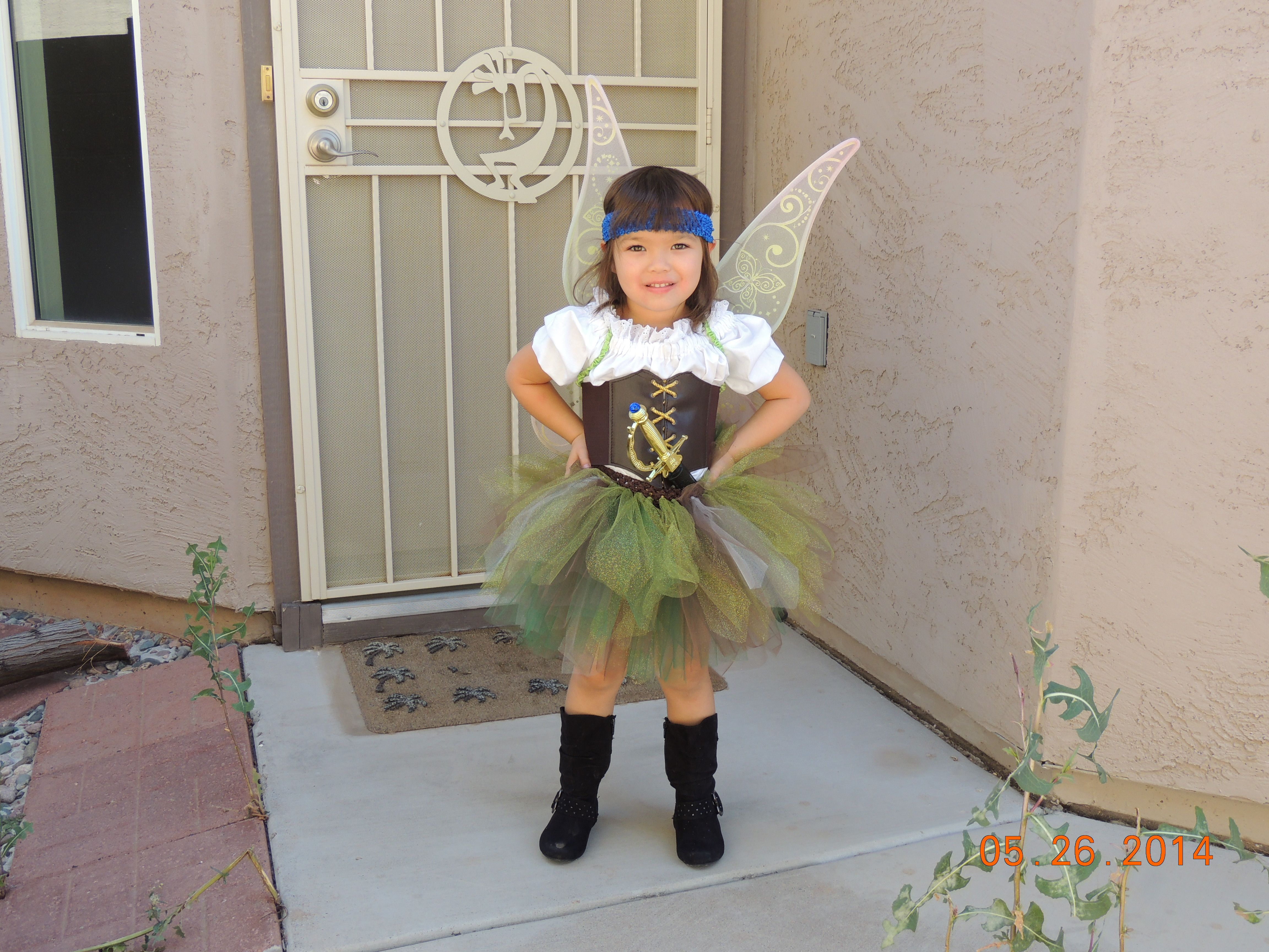 5a3eb05285d Disney Fairies, Zarina the pirate fairy DIY costume. | Disney ...