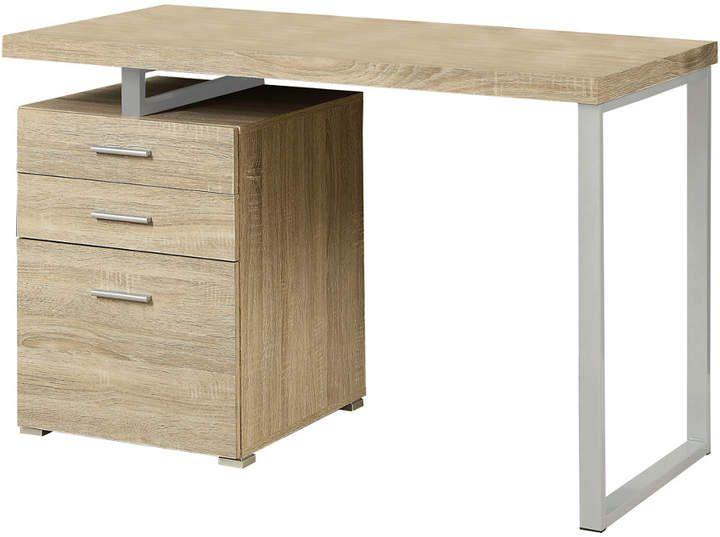 Monarch Computer Desk Industrial Office Design Natural Desks Office Desk For Sale