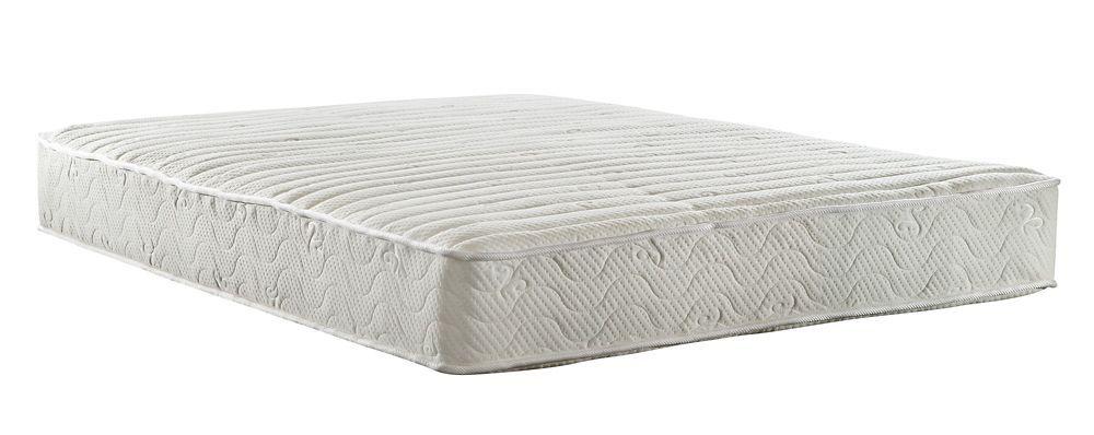Contour 8 Inch Coil Mattress King Size White Signature Sleep
