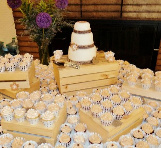 Wooden crate box caja de madera wedding boda for Decoracion de cajas