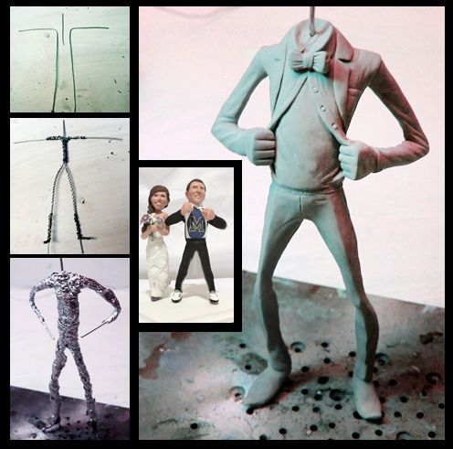Make An Armature For Sculpting Polymer Clay Sculptures Polymer