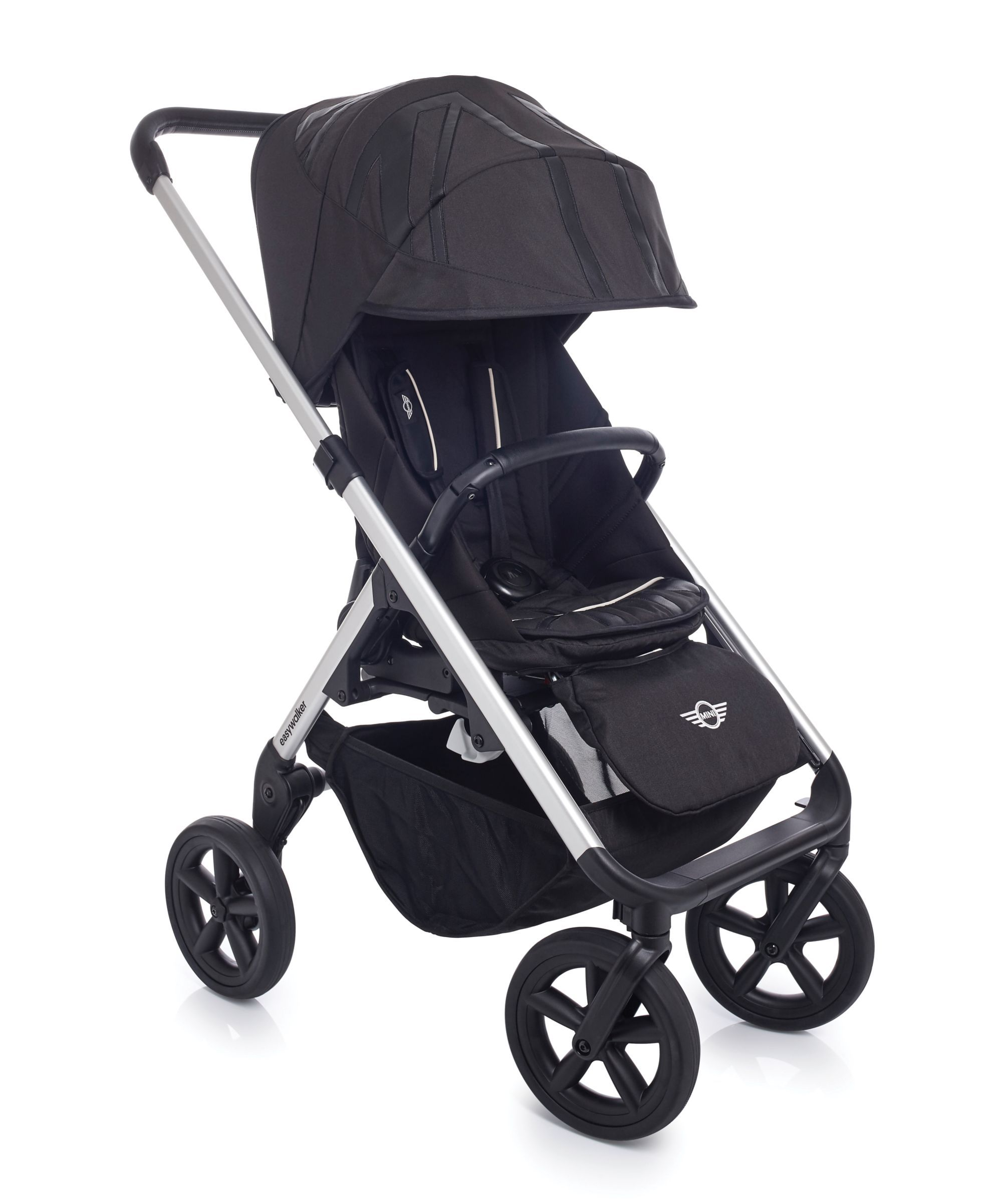 Kinderwagen Easywalker Duo Easywalker Mini Stroller Design Set Black Jack Baby Car