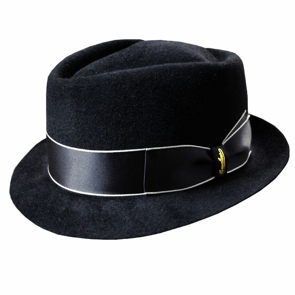 a16248244647f Borsalino Diamond Crown Velour Fedora